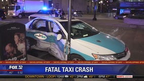 Taxi passenger killed in Loop crash