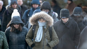Temperatures rise Saturday morning, bitter cold to follow