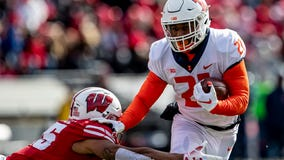 No. 6 Wisconsin hits the road against underdog Illinois