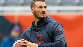 Bears' Trubisky will be a game-time decision