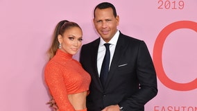 Jennifer Lopez and Alex Rodriguez donate year's worth of food to Tennessee elementary school