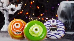 Krispy Kreme debuts new Halloween-themed doughnuts