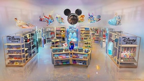 Disney shops open inside dozens of Target stores today