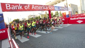 Thousands of runners ready for Sunday's return of the Chicago Marathon