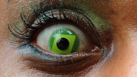 Woman rushed to ER after colored contact lenses she bought at store for Halloween nearly blind her