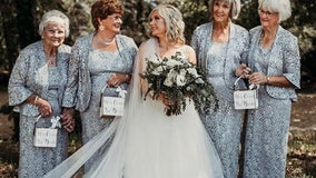 Bride asks 4 grandmas to be flower girls for wedding: 'They were more excited than my bridesmaids'