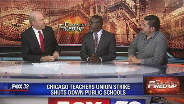 Flannery Fired Up: Chicago teachers' strike, Marijuana business