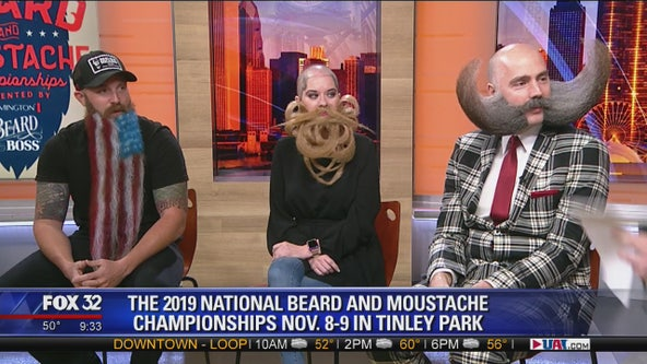 Fantastic follicles unite at the National Beard and Moustache Championships