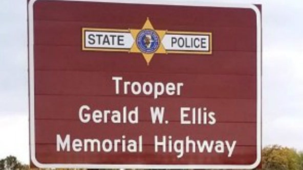 Part of I-94 in Lake County named in honor of fallen state trooper Gerald Ellis