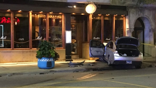Person steals ride-share after crash in Goose Island, crashes it again in Greektown, police say