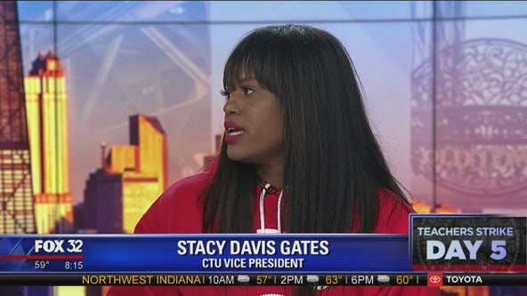 CTU vice president talks about ongoing negotiations with Chicago Public Schools officials