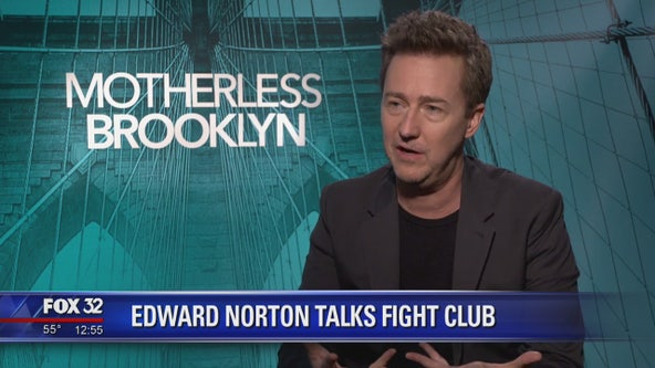 Edward Norton reflects on the cult classic status of 'Fight Club' on film's 10th anniversary