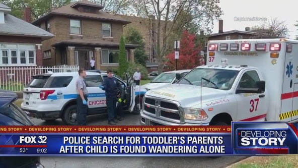 Police searching for family after postal worker finds boy, 3, wandering Chicago streets alone