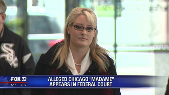 Alleged Chicago madame appears in federal court
