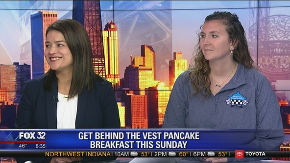 Officer safety at the forefront of Get Behind the Vest Pancake Breakfast