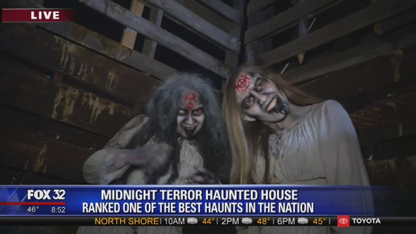 Get the spook scared out of you at the Midnight Terror Haunted House