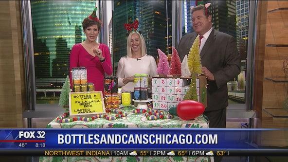 Fa La La La Beer Box advent calendar at Bottles and Cans Chicago