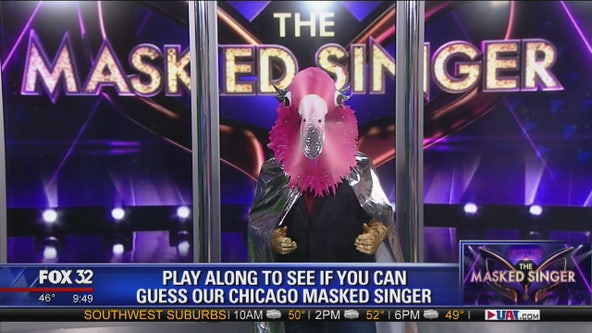 Can you guess which Chicago celebrity is behind the mask?