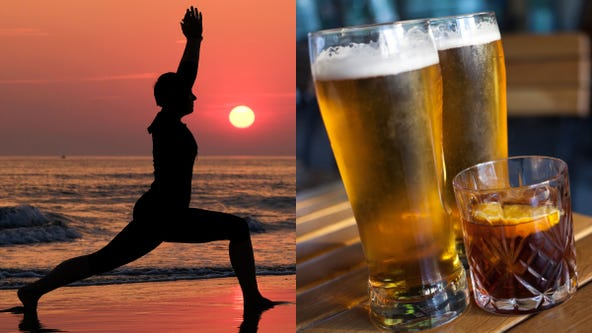 Heavy metal, alcohol and profanity: Rage yoga offers unique approach to finding inner peace