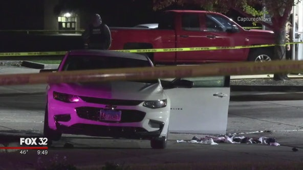 Off-duty Waukegan police officer shoots suspect after almost being struck by vehicle