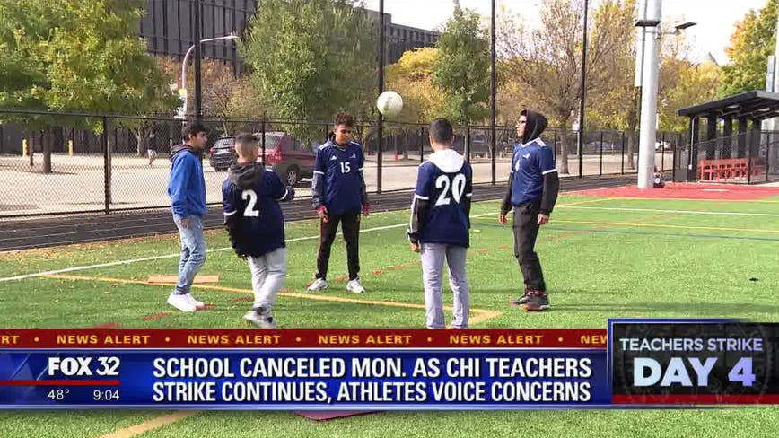 Chicago schools to be closed Monday as strike continues