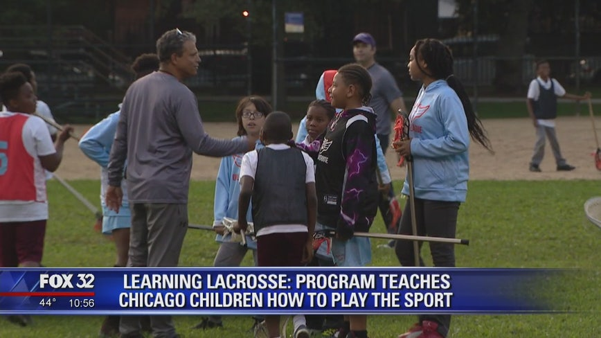 Program teaches Chicago children how to play Lacrosse