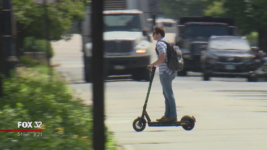 Chicago's electric scooter pilot program ends after four months