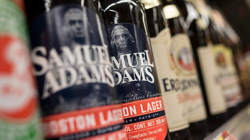 Sam Adams' newest beer is illegal in 15 states
