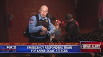 Emergency responders train for large-scale attacks in south suburbs