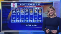1 p.m. forecast for Chicagoland on Nov. 18th
