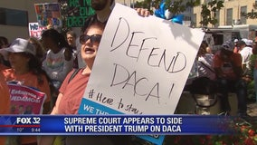 Split Supreme Court appears ready to allow President Trump to end DACA