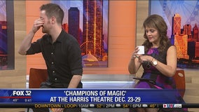 'Champions of Magic' brings whirlwind tour to Chicago this December