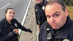 Police mourning loss after Krispy Kreme truck spill