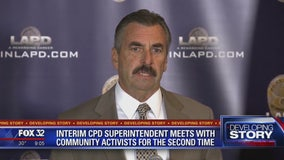 Interim CPD superintendent meets with community activists for second time