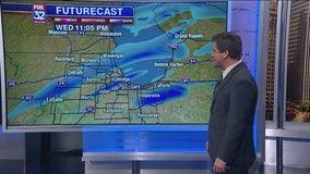 6 p.m. forecast for Chicagoland on Nov. 13