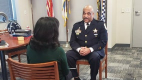 Chicago top cop Eddie Johnson sits down with FOX 32 after announcing retirement