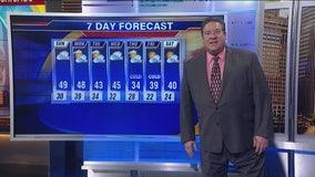 Sunday morning forecast for Chicagoland on Nov. 3