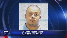 Family outraged after Chicago cop killer re-sentenced to 40 years in prison