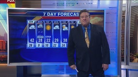 Chicagoland 7 a.m. weather: Nov. 10, 2019