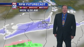 9 p.m. forecast for Chicagoland on Saturday, Nov. 9th