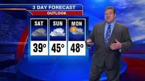 8 p.m. forecast for Chicagoland on Nov. 2nd