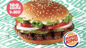 Vegans sue Burger King over Impossible Whopper, claim patty was contaminated by meat in class-action lawsuit: report