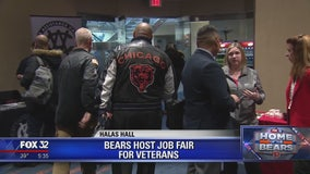 Chicago Bears host job fair for veterans