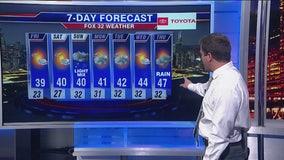 10 p.m. forecast for Chicagoland on Nov. 14