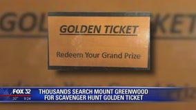 Thousands search Mount Greenwood for scavenger hunt golden ticket