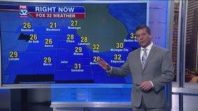 6 p.m. forecast for Chicagoland on Nov. 14