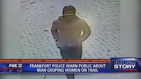 Police warn public about suspect groping women on popular suburban trail