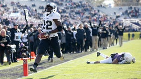Purdue beats Northwestern 24-22 with late field goal