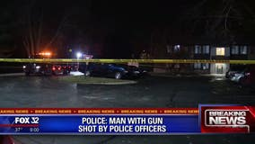Gary police shoot man after responding to call of a man with a gun