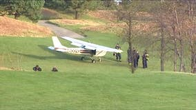 Pilot lands plane on golf course in suburban Glenview